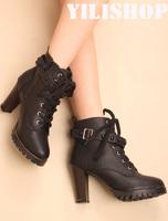 средне ноги сапоги сапоги шпильках платформы taojian сексуальная женская обувь Луны