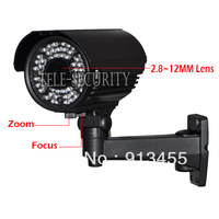 CCTV 700TVL 2.8-12mm ZOOM LENS SONY CCD Effio-E 60LED  Waterproof outdoor Camera