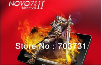 Android 4.0 Tablet PC Ainol Novo 7 Adanced II+7 inch 5 Point Capacitive Multi-Touch Screen+8GB+512MB+Allwiner A10 1.2GHz+HDMI