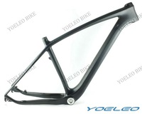 "3k Matte Full Carbon Fiber Mountain Bicycle Frame 29er  Size 19"" Headset 1-1/8""-1-1/2"" BSA Weight 1250g EN Standard"