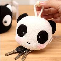 Cartoon Lovely Animal Wool Draw Type Key case Key Bag 1 pc