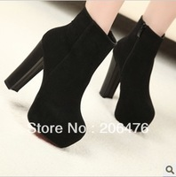 Thick heel  fashion boots 2012 winter high-heeled shoes platform princess boots
