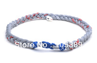 Hot selling Double& triple Texas Ranger 100pcs Braided NFL & NCAA Titanium Necklaces from factory