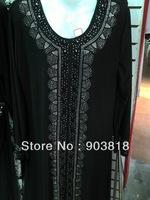 New style islamic clothing,wool-peach abaya,modest muslim clothing,arabic dress,arabic wear,islamic fashion abaya 12122513