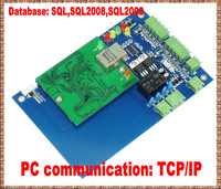 Free shipping+RFID access control systems+TCP/IP+1 pieces reader+Donated software