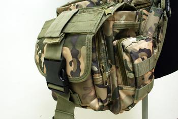 MOLLE Shoulder Bag Multicam SG-01-SC free ship