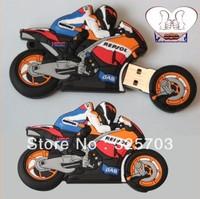 Cartoon USB2.0 Flash Memory Stick Pen Drive High Qualtiy Cartoon motorcycle rider