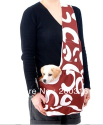 New coffee Pet Sling Carrier Bag Dog Cat Carrier dog carrier Free Shipping Wholesale(China (Mainland))