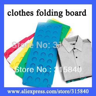 1pc New 2015 Magic Fast Speed Folder Clothes Shirts Folding Board For Kids Fold Garment Board  -- DL61 Wholesale