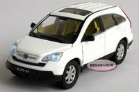 New 1:32 Honda CRV Alloy Diecast Model Car With Sound&Light White Toy Collection B222c