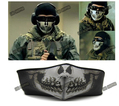 Hot Polartec Navy Seal SWAT Skull Half Face Mask Skeleton Cloth Flexible Motorcycle Horror Mask