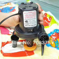 220V 150W AC Electric Air Pump with 3 nozzle for Home Inflate inflatable boat Air mattress Vacuum storage bag  free shipping