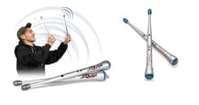 1pair/lot Rhythm Sticks Electronic Drum Sticks Air drumstick Novelty toy Gift(China (Mainland))