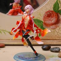 Japanese Anime Guilty Crown Yuzuriha Inori Action PVC Figure Free Shipping