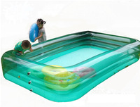 Large rectangle 305CM long inflatable swimming pool