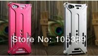 Free Shipping 1 pcs Wholesale Retail Pacakge Arachnophobia Durable X design Aluminium Metal Bumper case for iphone 5 5G