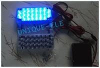 2 x 22 LED car truck Flash Strobe caution light Blue