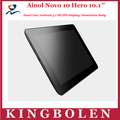 """Ainol Ново 10 героя 10.1"""" Tablet PC Емкостной Andriod 4.1 A9 с тактовой частотой 1,5 ГГц 1 ГБ оперативной памяти DDR3 16"""