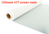 Great quality 120 mesh 47T-55W 127cm wide 50meters 1 roll screen printing mesh plain weave polyester fast shipment free shipping
