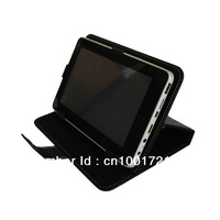 "Black/Pink Magic Leather Case+Stylus For 7"" Arnova 7 G3/7c G3/7f G3/ChildPad Tablet PC free shipping"