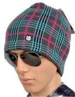 HOT!Lattice Design Men's Beanie skiing hat winter Skull Cap 100% orlon material