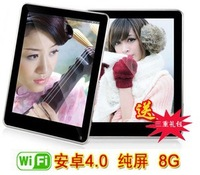 Brand New Arrived 8 inch Tablet pc Allwinner A13 Dual core 1.2GHZ 1GB DDR3 8GB HDD Android 4.0.3 Dual Webcam Support HDMI Wifi