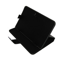 "Black Magic Leather Case+Free Film For 7"" Acer ICONIA TAB A110 A111 A100 A101 Tablet free shipping"