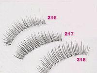 Free shipping(10 pairs/box) senior handmade cottiers natural nude makeup short design false eyelashes 216