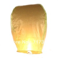 Free Shipping 30pcs Green Sky Lanterns Wishing Lamp Flying Lanterns Sky Chinese Lanterns Birthday Wedding Party 620008