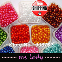 Free Shipping 8mm Beads 500g/pack (1600pcs approx.) Free Shipping HK Airmail