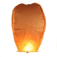 Free Shipping 30PCS Chinese Fire Sky Lanterns Orange  Wishing Balloon Birthday Wedding Christmas Party Lamp SkyLanterns 620013