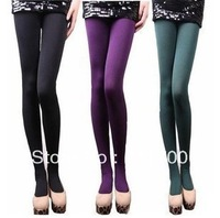 New Fashion Women's Winter Warm Comfortable Slim Pants Leggings Body Stockings 8 Colors Free shipping