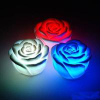hot sale freeshipping  led rose gift 10pcs waterproof led flashing rose,decoration light