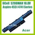США На складе Новый laptop Батарея на 6 ячеек для ACER Aspire 4741 4251 4738 5551 AS10D31 AS10D3E AS10D41 В