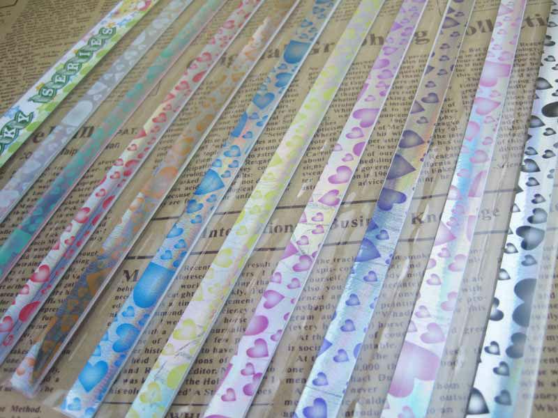 Handmade Paper Gifts For Girlfriend strips star folder paper