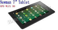 Newman 7 inch tablet pc 8g tablet internal GPS double 512M DDR3 8G HDD HDMI 2160P supprt  wifi 3g fm