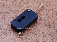 Mitsubishi Lancer 2 buttons flip remote key casing,remote control key case flip key blank