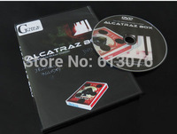 Alcatraz Box by Mickael Chatelain mentalism magic stage Magic Trick (Magic prop,magic toy), card magic. poker card. coin magic