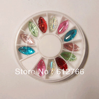nail art  rhinstone set 5 different shape for choosing