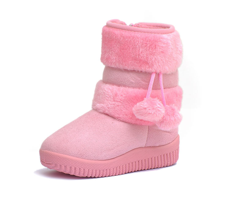 060 Free Shipping!Wholesale Kids Snow Boots,Winter Boots,Girls Boots,4Y-12Y Kids,Very Thick and Warm,EMS DHL FEDEX Shippment!(China (Mainland))