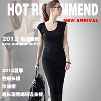New 2014 dress beach bandage dress celebrity dresses women summer dresses   black grey