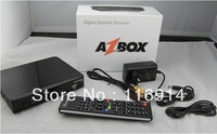 2012 the new digital full hd satellite receiver azbox bravissimo  with two tuners