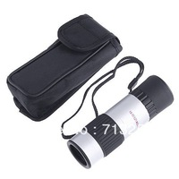 ,freeshipping Compact Pocket-Sized 15-55x Mini Zoomable Monocular Telescope