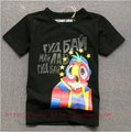 Children's long sleeve t-shirt boy's fashion t-shirt bird children's t-shirt Freeshipping