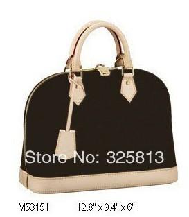Wholesale Monogram Canvas M53151 ALMA Women Lady Shoulder Hobo Tote Travel Bags Designer Handbags