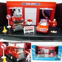 Scania series set gift box alloy car model