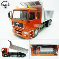 Accessplatforms 6 wheel dump truck luxury gift box set alloy car model