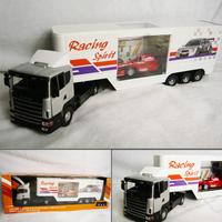 Scania giant f1 transport truck luxury gift box alloy car model