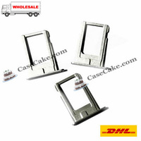 SIM Card Tray Slot Holder for iPhone 5 Mix color Black and white 500 pcs/lot  Sim Card Slot for iphone 5,Fedex free shipping