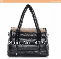 The daily Specials winter paragraph space package stylish simplicity hairy nail bag handbag Messenger bag ladies bags